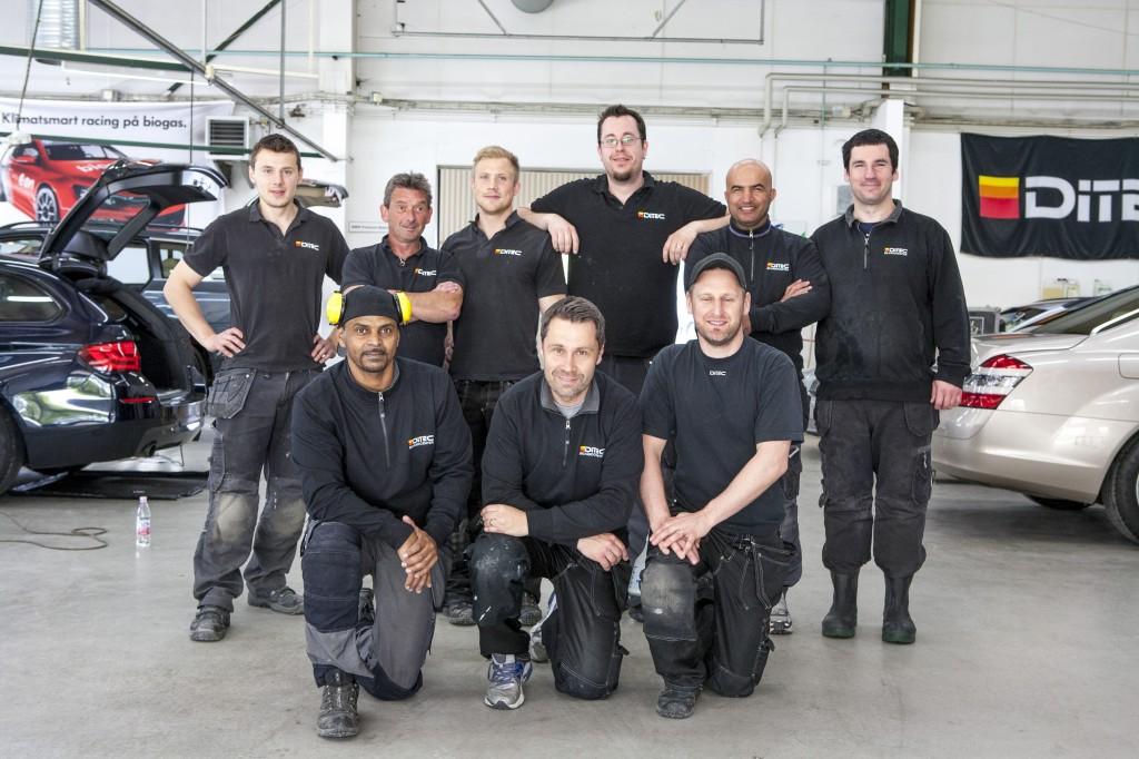 Vi som jobbar på Christianstad Bilvårdcenter AB. Ägare Niklas Olsson samt Jimmy Kårström och Seth Wikskal bl.a